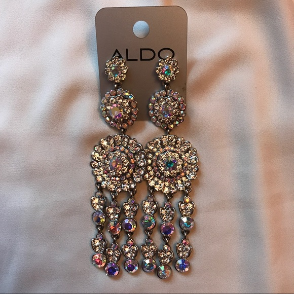 Gorgeous Silver Chandelier Earring Indian Inspired