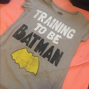 "Batman Tops - ""Training to be BatMan"" tee shirt"