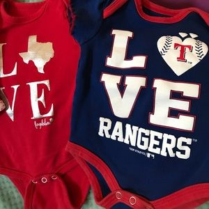 Other - 3 for $15! Texas onesies