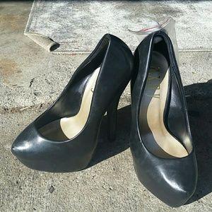 A.X.N.Y. American Exchange Shoes - A.x.n.y black heels