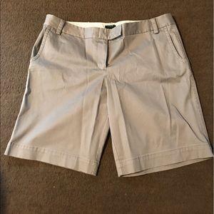J. Crew Factory Pants - Gray j crew factory Bermuda shorts