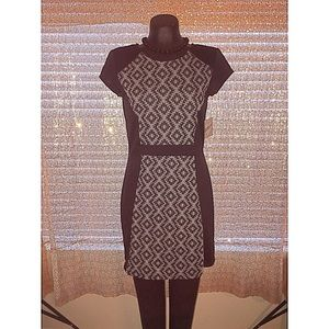 Dresses & Skirts - Cute and classic black and grey career dress!