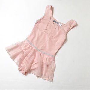 Danskin Other - Danskin freesfyle pink leotard with tutu size 7/8