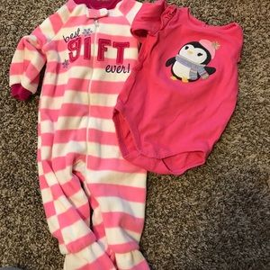 Other - Sleeper and onesie