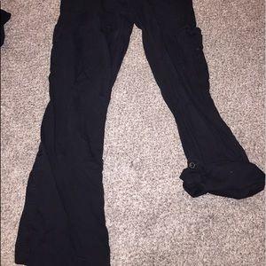 Planet Motherhood Pants - Black maternity cargo pants