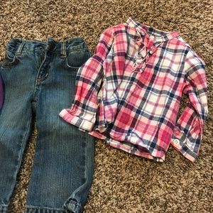 Other - Two shirts and jeans
