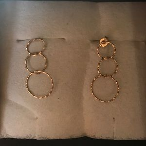 14k tested and on one of the backs Jewelry - Vintage 14k Earnings