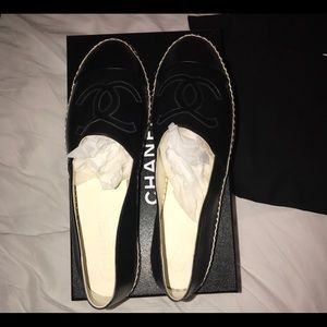 CHANEL Shoes - Chanel Lambskin SS17 espadrilles