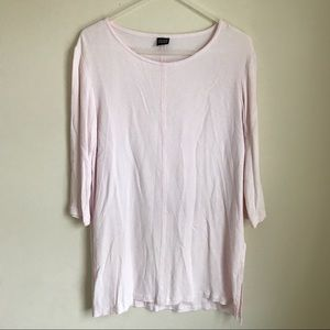 Eileen Fisher Tops - Eileen Fisher Airy Pale Pink Tunic