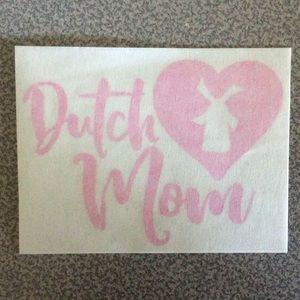 DUCTH MOM STICKER
