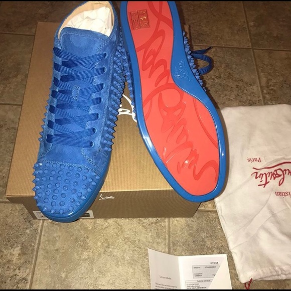 reputable site 8bc13 87ac0 Men's Christian Louboutin Studded Sneakers