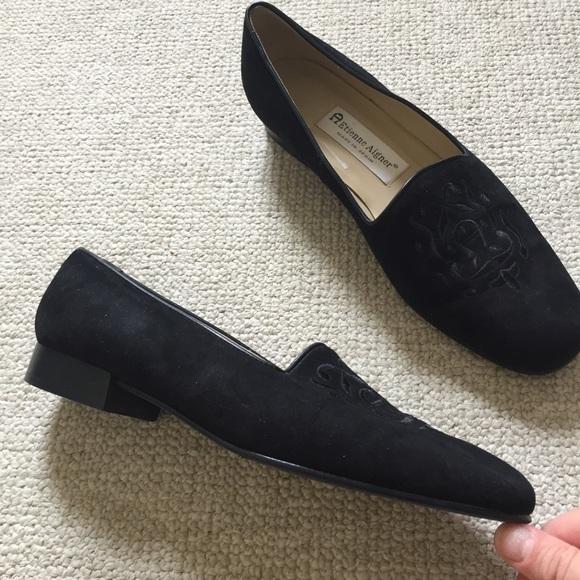 Etienne Aigner Shoes - Black flats sz 8.5