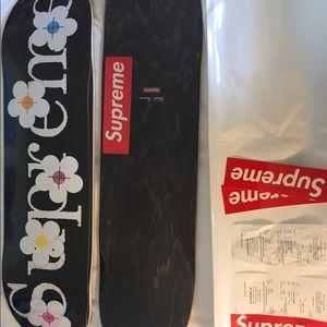 Supreme Other - Supreme Flower Skate Deck