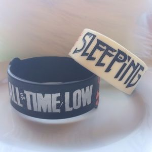Hot Topic Jewelry - All time low rubber bracelet