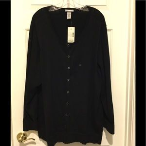 Catherines Sweaters - New with tags button up sweater.