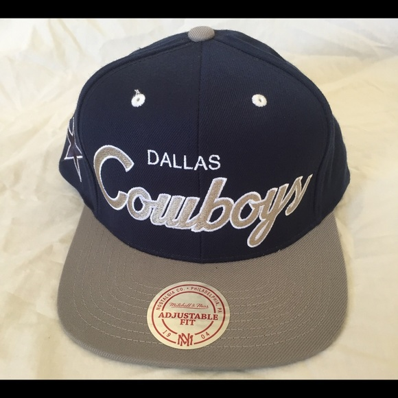 7e318ffa341 Authentic Mitchell   Ness Dallas Cowboys Hat
