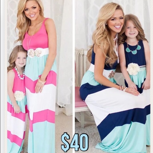 09933d85da991 Mommy and Me Maxi Dresses 2 colors available! NWT