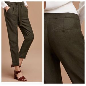 Wilfred Pants - Wilfred Allant dark olive pant