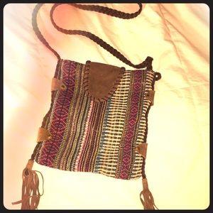 Antik Kraft Handbags - Cross Body Fringe Bag-Real Hippies Only