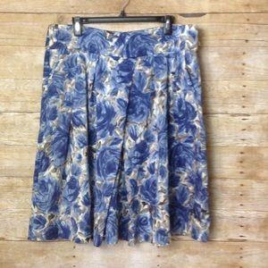 Talbots Dresses & Skirts - Talbots Floral W/ Pockets Circle Skirt Size 16