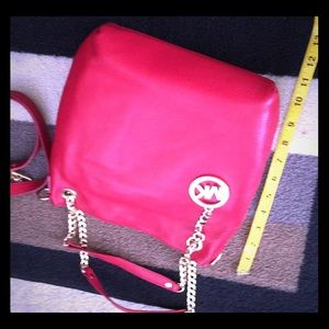 Michael Kors shoulder convertible bag