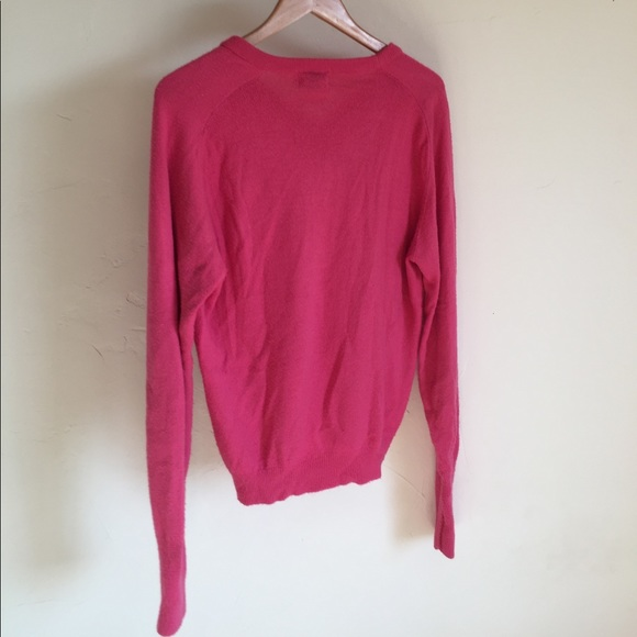 lacoste sale pink lacoste cashmere v neck sweater from victoria 39 s closet on poshmark. Black Bedroom Furniture Sets. Home Design Ideas