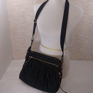 MZ Wallace Handbags - Black Bedford Paige purse with shoulder strap