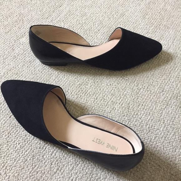 Nine West Shoes - Nine West Black Flats