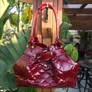 Burberry Handbags - AUTHENTIC Burberry Beaton Patent Leather Bag