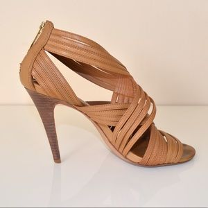 60246525bd23 Tory Burch Tan Strappy Sandals