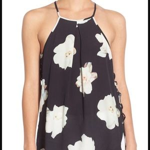 Willow & Clay Tops - Willow & Clay Floral halter top