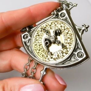 Astrological Dragon Divination Locket Pendant