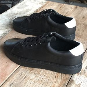 Saturdays Nyc Other - Saturdays NYC all black leather sneakers