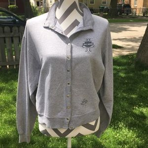 Harley-Davidson Sweaters - Harley Davidson button up sweater for women's