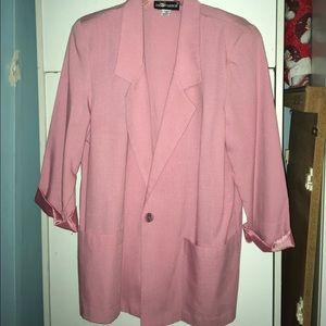 Jackets & Blazers - Size 12 peach/pink color