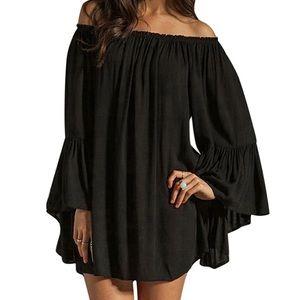 11e3099b61 Dresses & Skirts - Loose Sexy Summer Off Shoulder Dress Swim Coverup