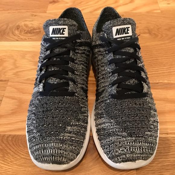 Nike Free RN Flyknit 2017 Big Kids' Running Shoe Size