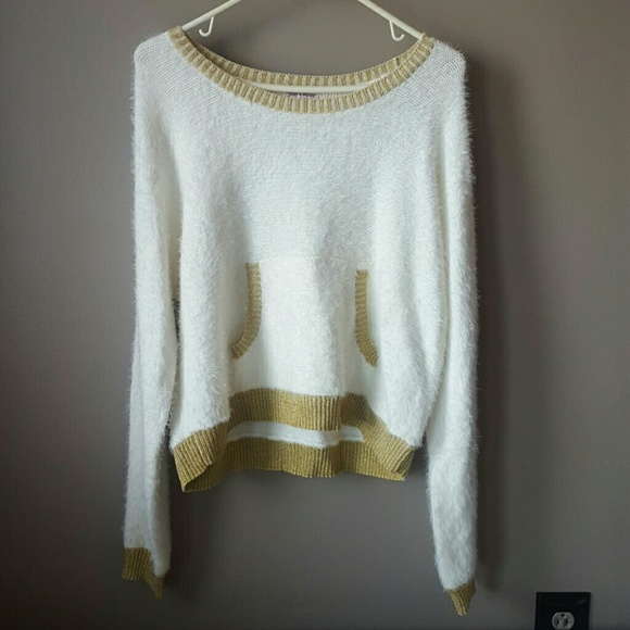 78% off Juicy Couture Sweaters - Juicy Couture soft fuzzy white ...