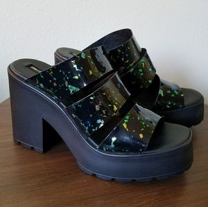 Miista Shoes - Glorious Color Shifting Speckle Shoes