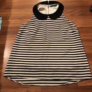 Pim + Larkin sleeveless blouse