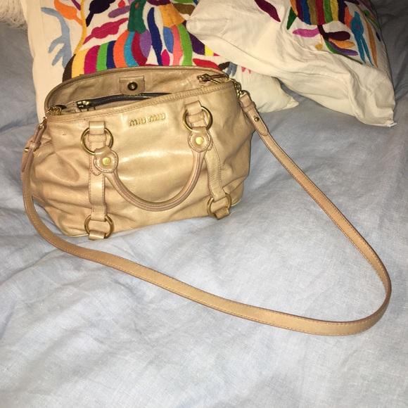 dda8f837b3ad SALE 🐌 Miu Miu Purse 100% Authentic Glaze Leather.  M 592b9611d14d7ba94f013ead