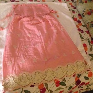 Anthropologie Dresses & Skirts - Anthropologie pink dress size XS NWT
