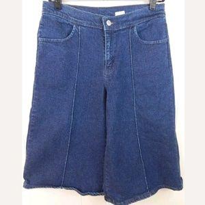 Levi's Vintage Culottes Denim Gaucho Crops