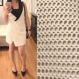 Self Portrait Dresses & Skirts - Self portrait Mesh Tuxedo dress sz 0 2 s or xs