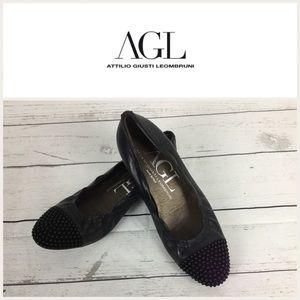 Agl Shoes - Attilio Giusti Leombruni Flat Shoes .Sz 35.5