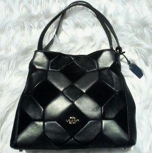 Coach Handbags - COACH BLACK LATTICE