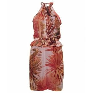 maison scotch Dresses & Skirts - Maison Scotch tropical halter dress