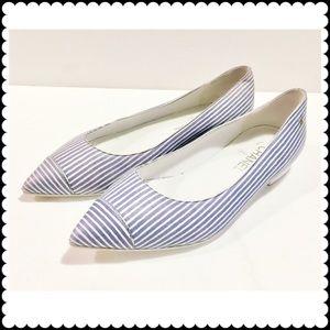 CHANEL Shoes - Chanel stripe flat
