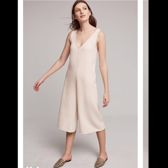 0e6f4d8b527 Anthropologie adobe terry jumpsuit