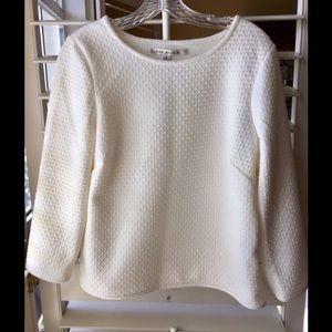 Cream color blouse